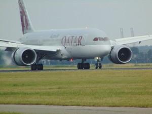 Qatar Airways Flugzeug